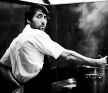 El chef más de moda en París, Iñaki Aizpitarte