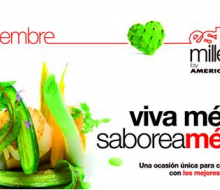 Estudio Millesime homenajea la cocina mexicana