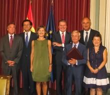 Acuerdo entre RAG y gobierno sobre alimentación saludable