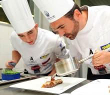 Joaquín Baeza ganador del Concurso Cocinero del Año