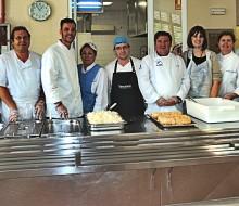 Cocina solidaria en San Isidro