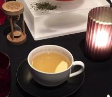 Un singular maridaje con té