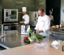 El chef Xosé Cannas y la innovación