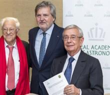 La Real Academia de Gastronomía firma un convenio con Mensajeros de la Paz