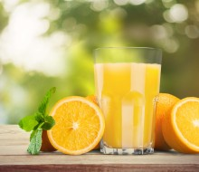 Fortalece tu organismo con un zumo de frutas