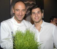 Zumo de trigo verde