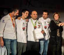 Asier Alcalde irá a la final del Concurso Cocinero del Año