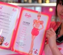 Mattel crea una cafetería en honor a la Barbie en Taiwán