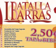 Cartagena se prepara para su I Batalla de Barras