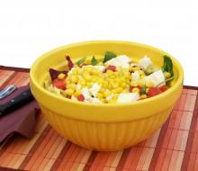Combinado de maíz y verduras