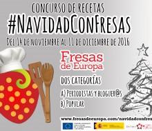 Concurso de recetas 'Navidad con Fresas'