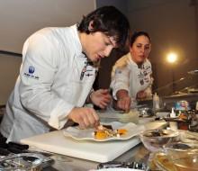 El jurado de la V semifinal del concurso Cocinero del Año