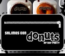 Los donuts se van de «after party»