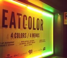Comidas monocromáticas con «Eat Color»