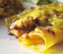 Enchiladas de queso mexicanas