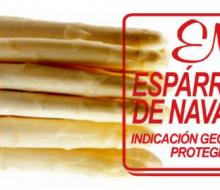 Espárrago «de Navarra»... pero sólo con IGP