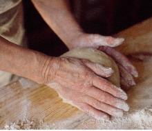 Barriga imparte un curso de pan en Madrid