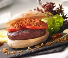 Juan Pozuelo reivindica la hamburguesa