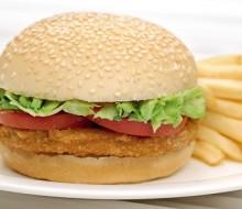 La primera hamburguesa artificial