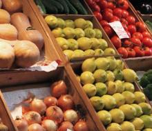Frutas y verduras afectadas por el veto ruso