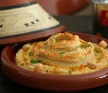 Hummus con pimentón ahumado