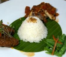 La cocina indonesia en el Hotel Intercontinental de Madrid