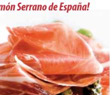 El jamón serrano se vende en Francia de la mano de Sergi Arola