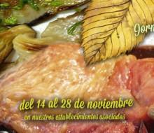 IV Jornadas Gastronómicas del Lechazo Asado y las Setas