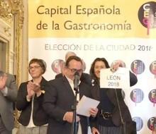 León Capital Española de la Gastronomía 2018