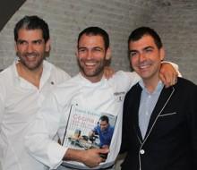 Darío Barrio enseña lo que cocina en casa a sus hijos