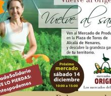 Mercados de Origen y solidarios, en Alcalá de Henares