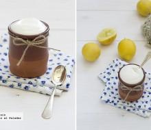 Mousse rápida de limón