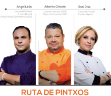 Ruta de los Pintxos Top Chef