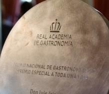 Candidatos a los Premios Nacionales de Gastronomía