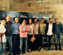 Los cocineros gallegos, premiados por Ribeiro