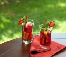 Receta: Sangría de fresa