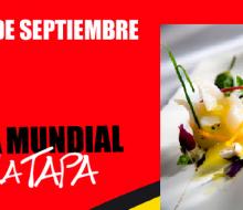 Día Mundial del la Tapa: 29 de septiembre