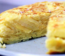 A vueltas con la tortilla de patatas