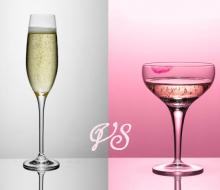 Champagne: guerra de copas