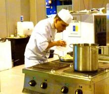 Talento joven para la cocina