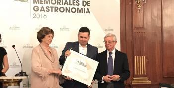 Marcos Morán premiado por mostrar la gastronomía española en el mundo